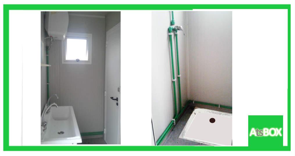 Box bagno per esterni noleggio - Bagno esterno prefabbricato ...