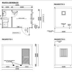 Box uso ufficio / spogliatoio / varie con bagno