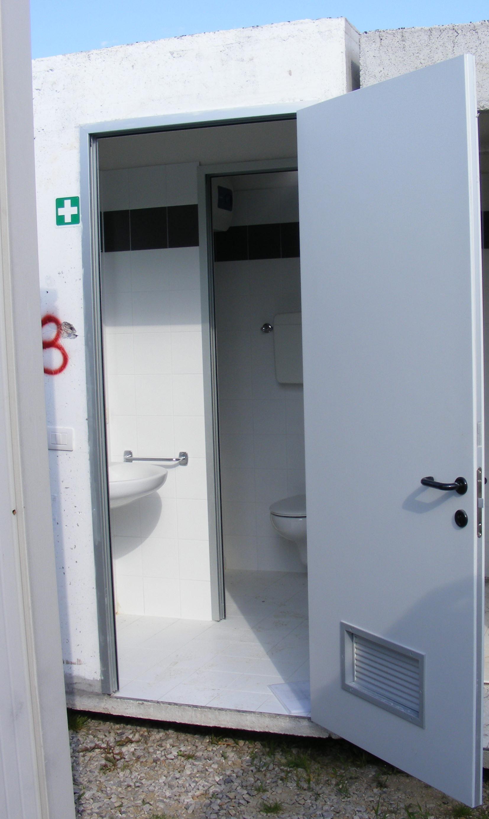 Cellula bagno prefabbricata cemento - Prezzo bagno prefabbricato ...