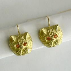 Orecchini in oro giallo